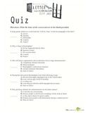Letter from Birmingham Jail Quiz