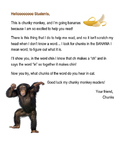 Letter from Chunky Monkey
