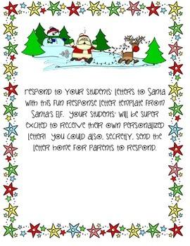 Letter from Santa's Elf