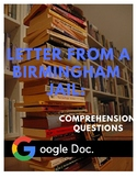 Letter from a Birmingham Jail: Comprehension Questions