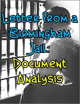 Letter from a Birmingham Jail: Document Analysis