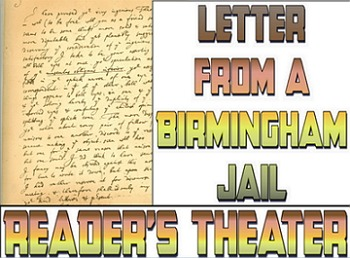 Letter from a Birmingham Jail reader's theater script