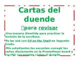 Letter from the Elf for Revising/Cartas del Duende para Revisar *English Spanish