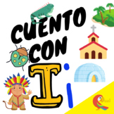 Letter i in Spanish//Cuento con i // Short story with lett