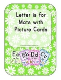 Letter is for Mats with Picture Cards