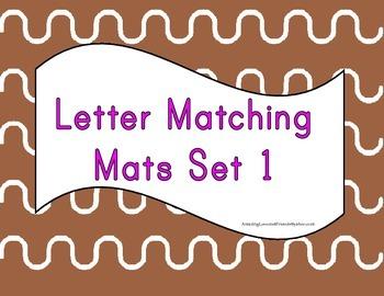 Letter matching Mats set 1
