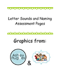 Letter names and sounds assessment