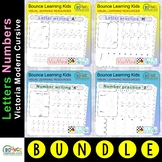 Letters & numbers bundle (124 distance learning worksheets
