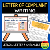 Letter of Complaint PowerPoint