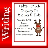 Elf Letter of Job inquiry to the North Pole - Creative Christmas Writing