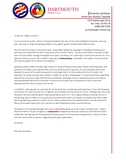 Letter of Recommendation for Students
