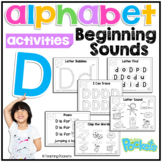 Letter of The Week D  activity pack