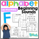 Letter of The Week F  activity pack