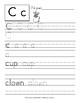 Letter of the Alphabet: Manuscript Handwriting Practice