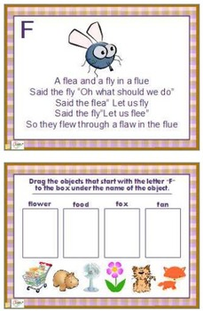 Letter of the Day A-Z Flipchart