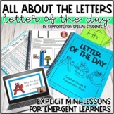 Letter of the Day - Alphabet Intervention for Special Education