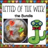 Letter of the Week BUNDLE *Growing Bundle*