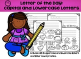 Letter of the Day: Capital and Lowercase Letter