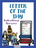 Letter of the Day Lesson Plan with Visuals