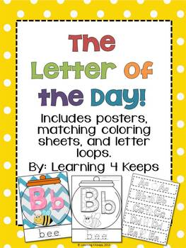 Letter of the Day Pack