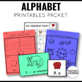 Alphabet Printable Pages