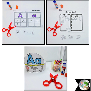 Alphabet Letter of the Week - Aa  (Free)