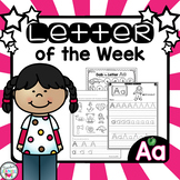Letter of the Week - Aa  (Free)