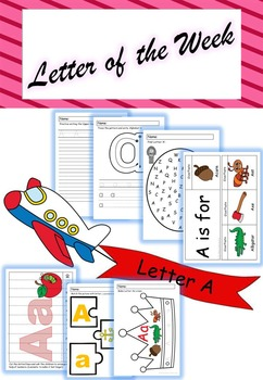 Letter of the Week - 'A'