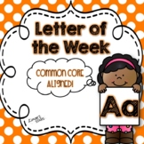 Letter of the Week: A {Distance Learning}