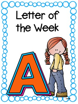 Letter of the Week- A
