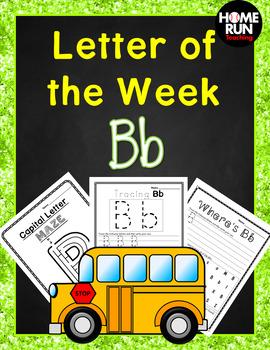 Alphabet Letter of the Week B
