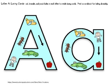 Letter of the Week- A- Activity Pack