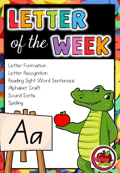 Letter of the Week - A - FREEBIE Sampler