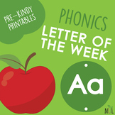 Letter of the Week - A - Phonic activities