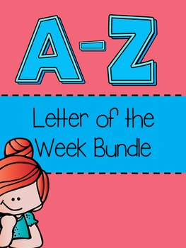 Letter of the Week A-Z Bundle