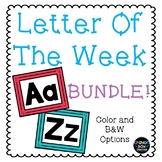 Letter of the Week A-Z BUNDLE!!!
