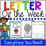 Letter of the Week A-Z - Letter of the Day