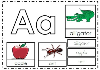 Alphabet Activities Letter Aa