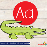 Letter of the Week Aa Workbook