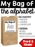 Letter of the Week Activity: My Bag of the Alphabet