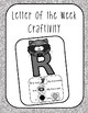 Letter of the Week Activity Pack ( Letter R)