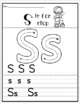 Letter of the Week Activity Pack ( Letter S)