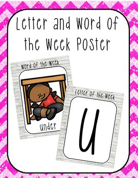Letter of the Week Activity Pack ( Letter U)