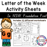 Letter of the Week Activity Sheets: Letter G