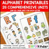 Alphabet Printables, Letter of the Week, Alphabet Activities