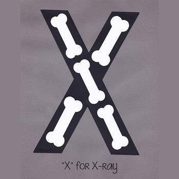Alphabet Art Craftivity, Upper X (Xray)