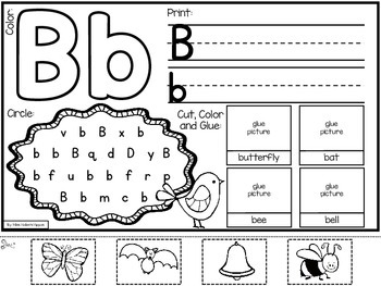 Letter of the Week Alphabet Books
