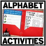 Letter of the Week Alphabet Bundle