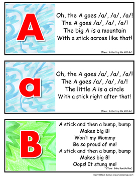 Letter of the Week Alphabet Set - Heidi Songs Focus Wall