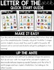 Letter of the Week Anchor Charts